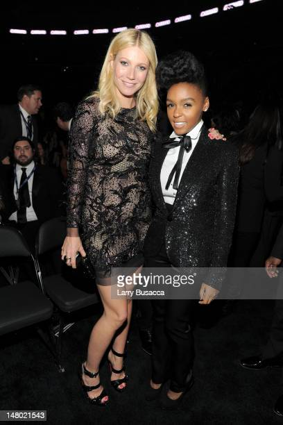 Actress Gwyneth Paltrow and singer Janelle Monae attend The 53rd Annual GRAMMY Awards held at Staples Center on February 13, 2011 in Los Angeles,...
