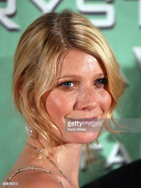 Actress Gwyneth Paltrow arrives at the 2004 Crystal Lucy Awards A Family Affair Women in Film Celebrates The Paltrow Family at the Century Plaza...