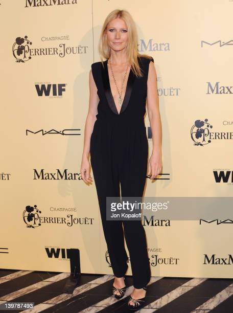 Actress Gwyneth Paltrow arrives at the 5th Annual Women In Film PreOscar Cocktail Party at Cecconi's Restaurant on February 24 2012 in Los Angeles...