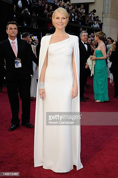Actress Gwyneth Paltrow arrives at the 84th Annual Academy Awards held at the Hollywood Highland Center on February 26 2012 in Hollywood California