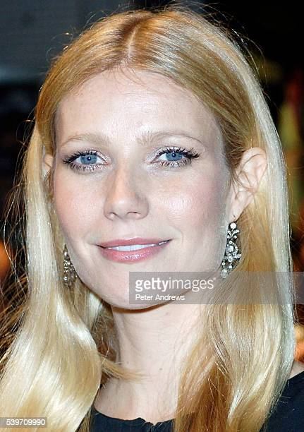 Actress Gwyneth Paltrow arrives at the screening of 'Proof' amidst speculation that she is pregnant with her second child The showing is part of The...