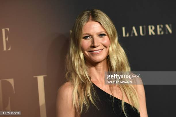 Actress Gwyneth Paltrow arrives for the 26th annual ELLE Women in Hollywood Celebration in Beverly Hills, California, on October 14, 2019.