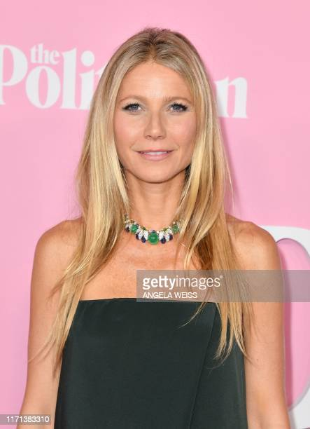 US actress Gwyneth Paltrow arrives for the Netflix premiere of The Politician at the DGA theatre in New York City on September 26 2019