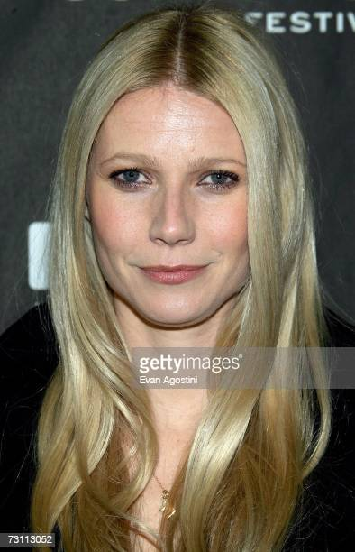 Actress Gwyneth Paltrow arrives for the The Good Night premiere at the Eccles Theater during the 2007 Sundance Film Festival on January 25 2007 in...