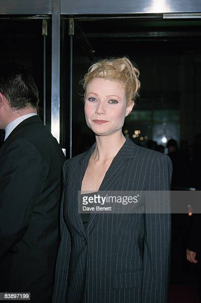 Actress Gwyneth Paltrow at the premiere of 'Good Will Hunting' at the Curzon West End, 4th March 1998.