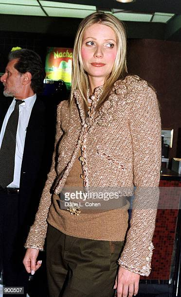 Actress Gwyneth Paltrow attends a special screening benefit of her new movie 'shallow Hal'' November 7, 2001 in New York City. The screening will...