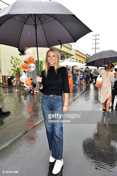 Actress Gwyneth Paltrow attends FirstEver GOOD Foundation Halloween Bash hosted by Jessica Seinfeld at Sunset Gower Studios on October 30 2016 in...