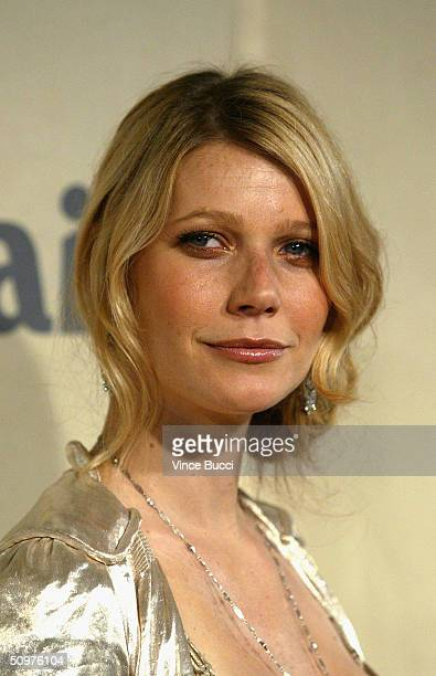 Actress Gwyneth Paltrow attends the 2004 Crystal and Lucy Awards A Family Affair Women In Film Celebrate the Paltrow Family on June 18 2004 at the...