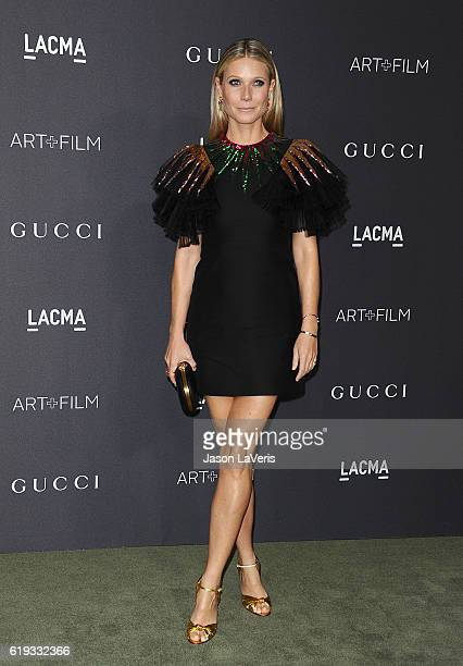 Actress Gwyneth Paltrow attends the 2016 LACMA Art Film gala at LACMA on October 29 2016 in Los Angeles California