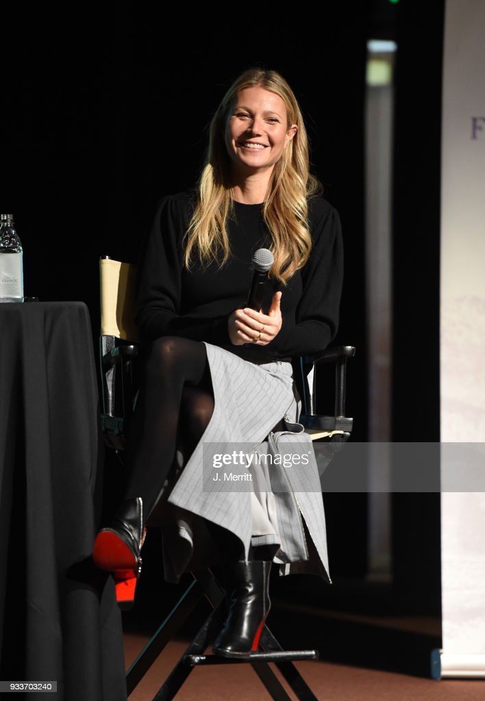 2018 Sun Valley Film Festival - Coffee Talk with Gwyneth Paltrow