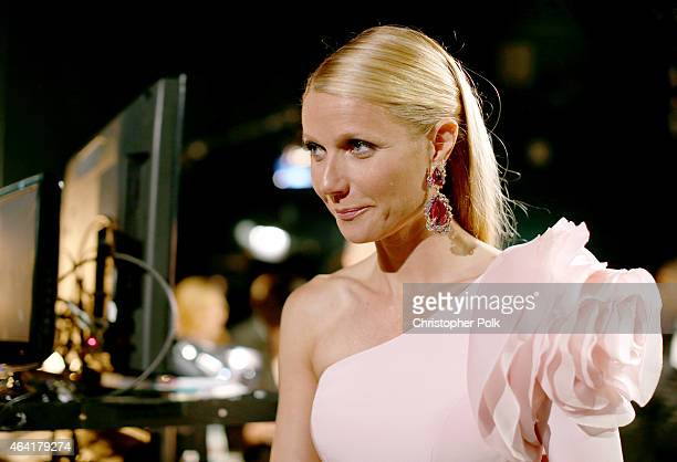 Actress Gwyneth Paltrow attends the 87th Annual Academy Awards at Dolby Theatre on February 22 2015 in Hollywood California