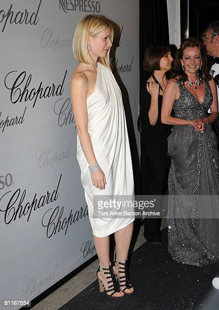 Actress Gwyneth Paltrow attends the Chopard Trophy Award Party at Carlton Beach during the 61st Cannes International Film Festival on May 19 2008 in...