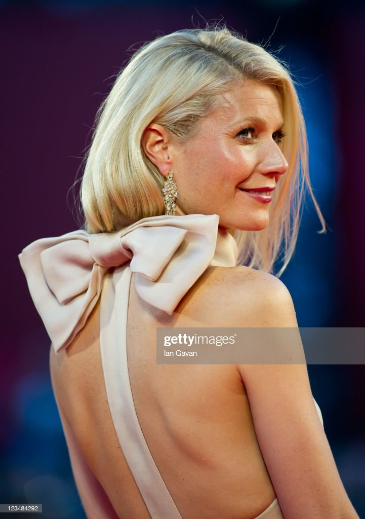 Actress Gwyneth Paltrow attends the 'Contagion' premiere during the 68th Venice Film Festival at Palazzo del Cinema on September 3, 2011 in Venice, Italy.
