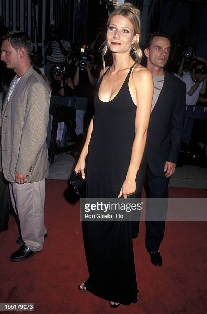 Actress Gwyneth Paltrow attends the Emma New York City Premiere on July 22 1996 at the Paris Theatre in New York City