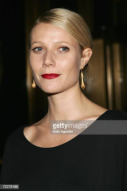 Actress Gwyneth Paltrow attends The Fashion Group International's 23rd Annual Night of Stars at Cipriani October 26 2006 in New York City