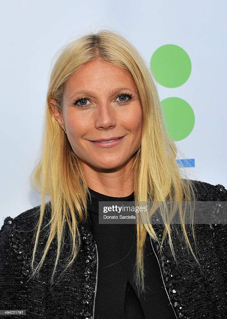 Actress Gwyneth Paltrow attends the first annual Poetic Justice Fundraiser for the Coalition For Engaged Education at the Herb Alpert Educational Village on May 28, 2014 in Santa Monica, California.