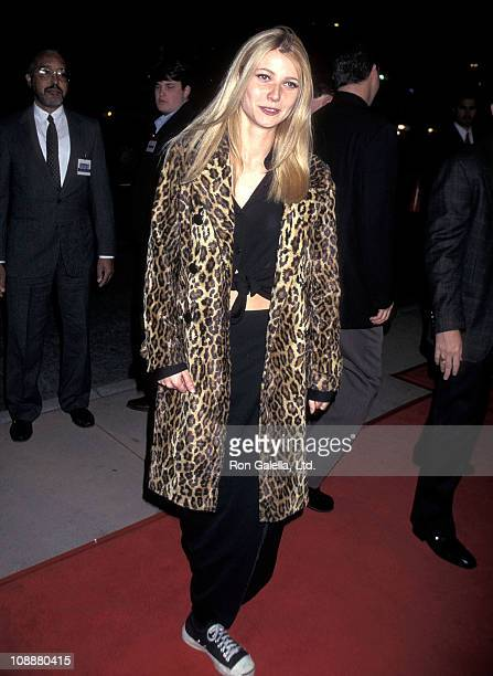 Actress Gwyneth Paltrow attends the 'From Dusk Till Dawn' Hollywood Premiere on January 17 1996 at Pacific's Cinerama Dome in Hollywood California
