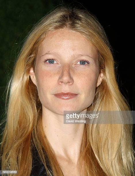 Actress Gwyneth Paltrow attends the launch party celebrating designer Stella McCartney's collaboration with highstreet fashion chain HM at St Olave's...