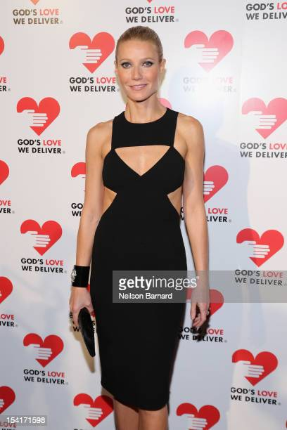 Actress Gwyneth Paltrow attends the Michael Kors Golden Heart Gala at Cunard Building on October 15 2012 in New York City