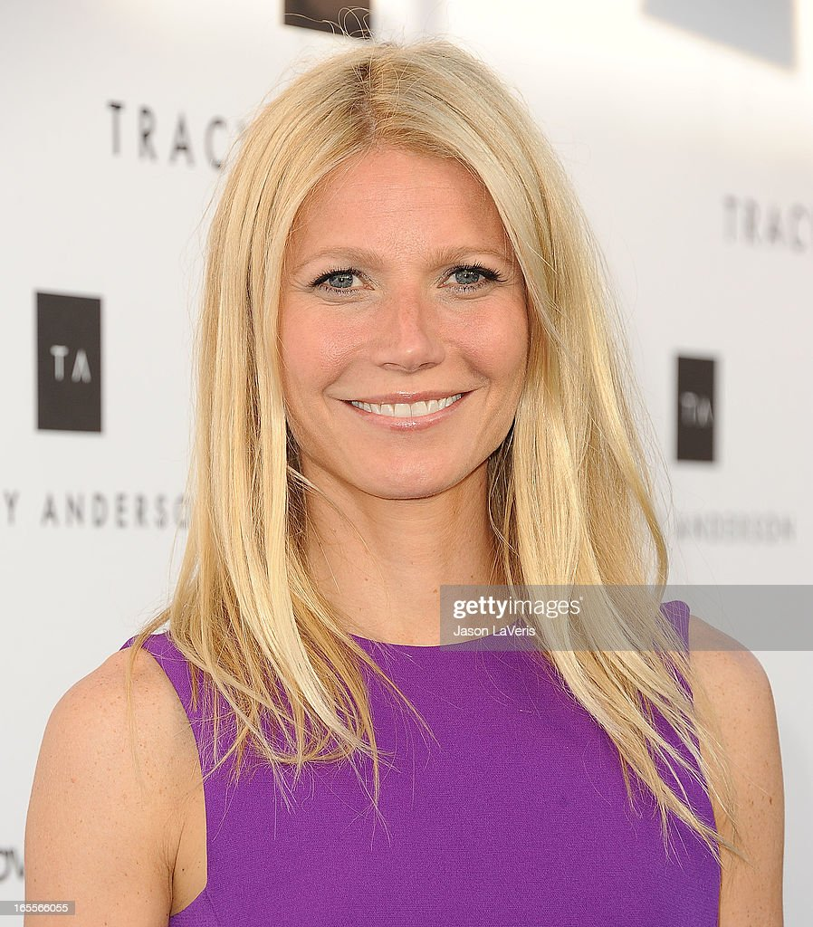 Actress Gwyneth Paltrow attends the opening of Tracy Anderson Flagship Studio on April 4, 2013 in Brentwood, California.