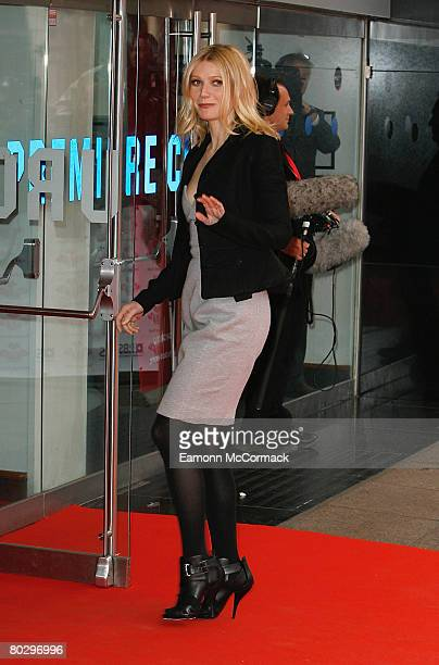 Actress Gwyneth Paltrow attends The Prince's Trust and RBS Celebrate Success Awards held at the Odeon Leicester Square on March 18 2008 in London...