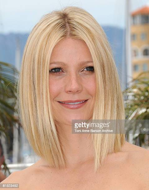 Actress Gwyneth Paltrow attends the Two Lovers photocall at the Palais des Festivals during the 61st Cannes International Film Festival on May 20,...