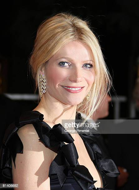 Actress Gwyneth Paltrow departs from the ' Two Lovers' premiere at the Palais des Festivals during the 61st Cannes International Film Festival on May...