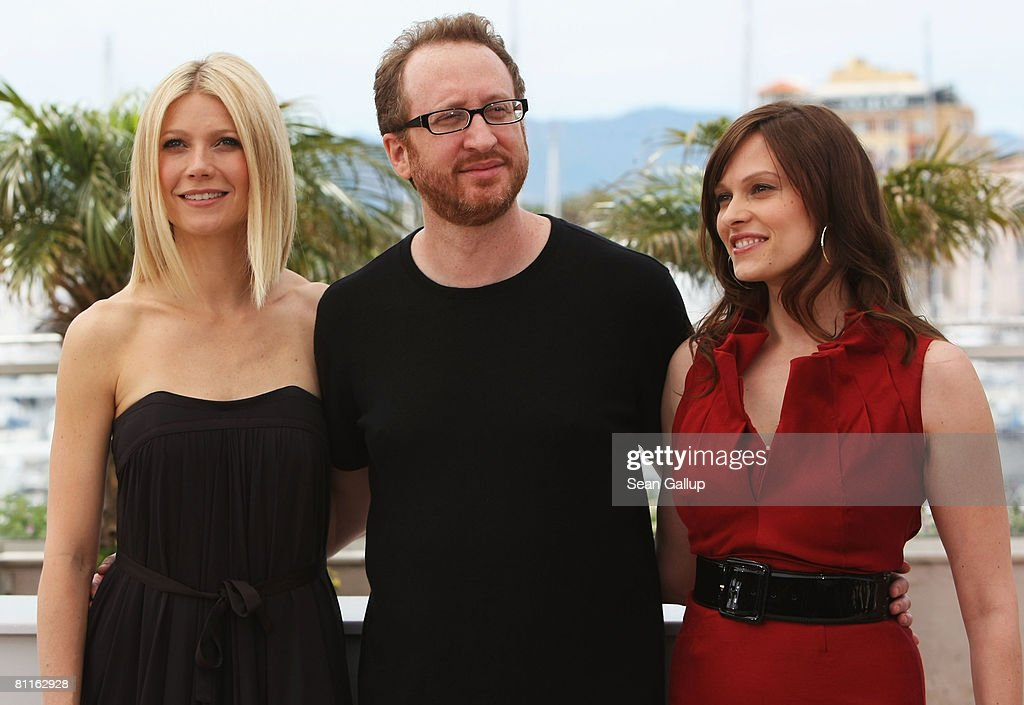 Actress Gwyneth Paltrow, Director James Gray and actress Vinessa Shaw attend the Two Lovers Photocall at the Palais des Festivals during the 61st International Cannes Film Festival on May 20 , 2008 in Cannes, France.