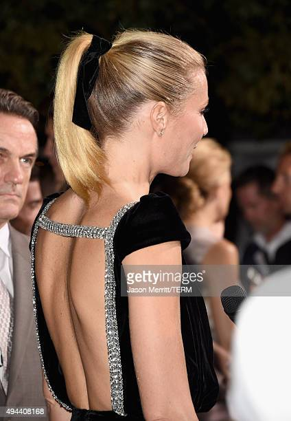 Actress Gwyneth Paltrow fashion detail attends the InStyle Awards at Getty Center on October 26 2015 in Los Angeles California