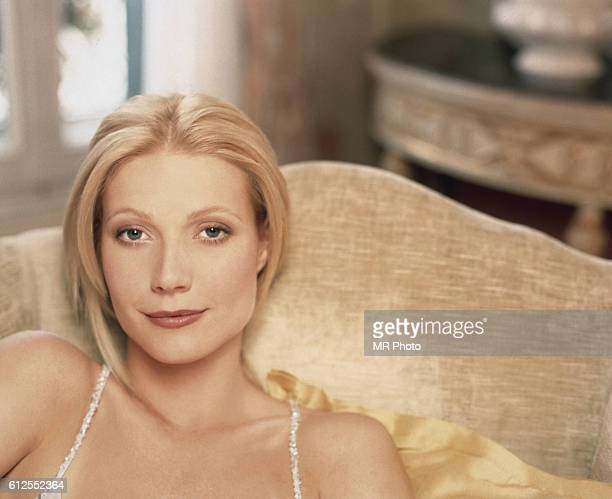 Actress Gwyneth Paltrow is photographed for InStyle Magazine in 1998.