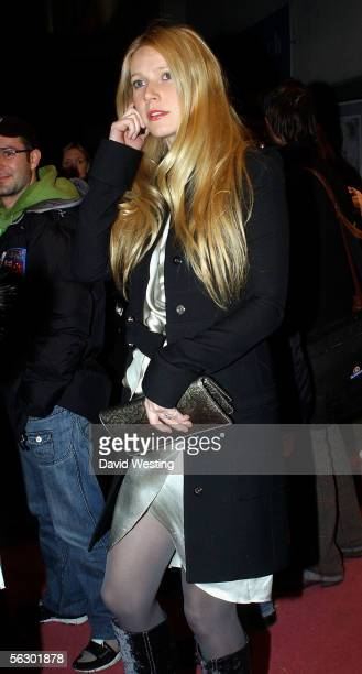 """Actress Gwyneth Paltrow leaves the Chelsea Cinema at a screening to promote Madonna's Channel 4 documentary """"I'm Going To Tell You A Secret"""" November..."""