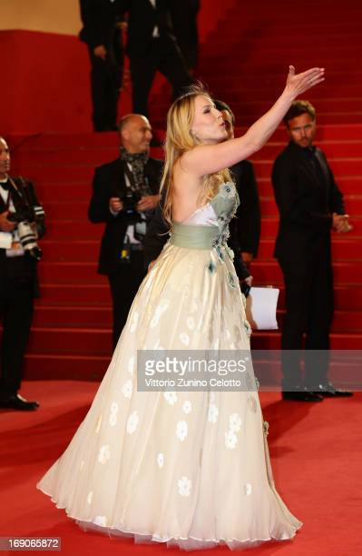 Actress Hadewych Minis attends the 'Borgman' Premiere during the 66th Annual Cannes Film Festival at the Palais des Festivals on May 19 2013 in...