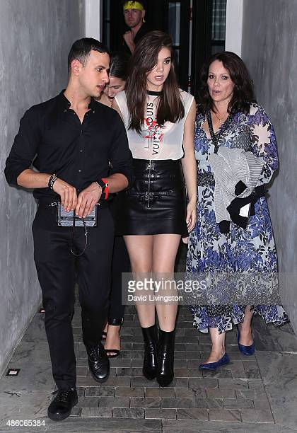 Actress Hailee Steinfeld attends Republic Records private postVMA celebration at Ysabel on August 30 2015 in West Hollywood California