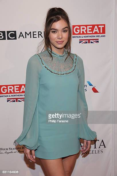 Actress Hailee Steinfeld attends The BAFTA Tea Party at Four Seasons Hotel Los Angeles at Beverly Hills on January 7 2017 in Los Angeles California