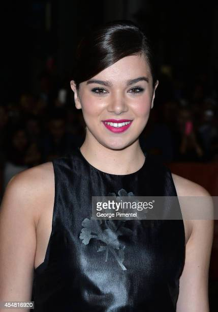 Actress Hailee Steinfeld attends The Riot Club premiere during the 2014 Toronto International Film Festival at Roy Thomson Hall on September 6 2014...