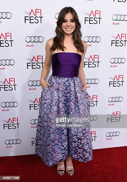 Actress Hailee Steinfeld attends the screening of The Homesman during AFI FEST 2014 presented by Audi at Dolby Theatre on November 11 2014 in...