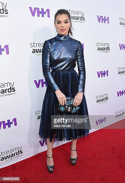Actress Hailee Steinfeld attends VH1's 5th Annual Streamy Awards at the Hollywood Palladium on Thursday September 17 2015 in Los Angeles California