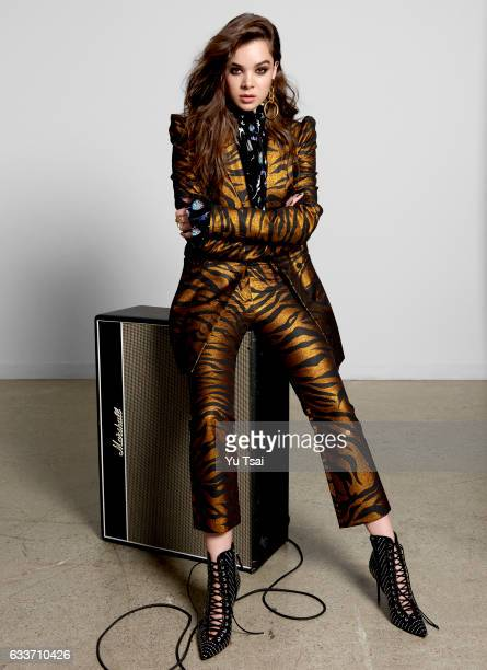 Actress Hailee Steinfeld is photographed for Fashion Magazine on September 27 2016 in Los Angeles California Published Image