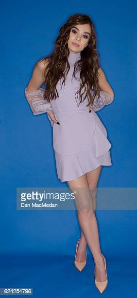 Actress Hailee Steinfeld is photographed for USA Today on October 29 2016 in Los Angeles California PUBLISHED IMAGE