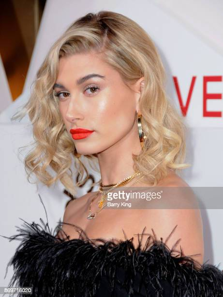 Actress Hailey Baldwin attends #REVOLVEawards at DREAM Hollywood on November 2 2017 in Hollywood California