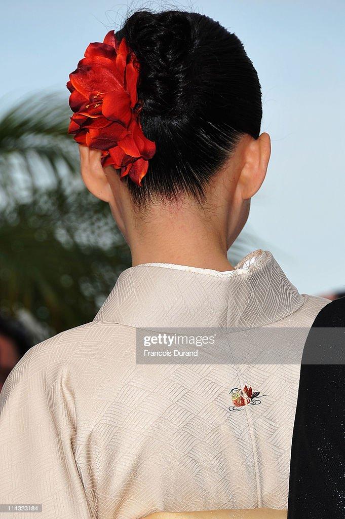 """Hanezu No Tsuki"" Photocall - 64th Annual Cannes Film Festival : News Photo"