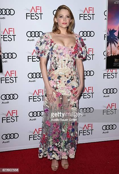 Actress Haley Bennett arrives at AFI FEST 2016 Presented by Audi - Opening Night - Premiere of 20th Century Fox's 'Rules Don't Apply' at TCL Chinese...