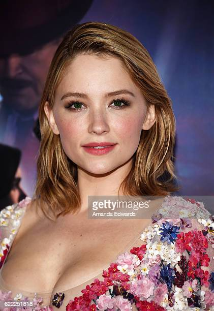 Actress Haley Bennett arrives at the AFI FEST 2016 Presented by Audi Opening Night Premiere of 20th Century Fox's 'Rules Don't Apply' at the TCL...