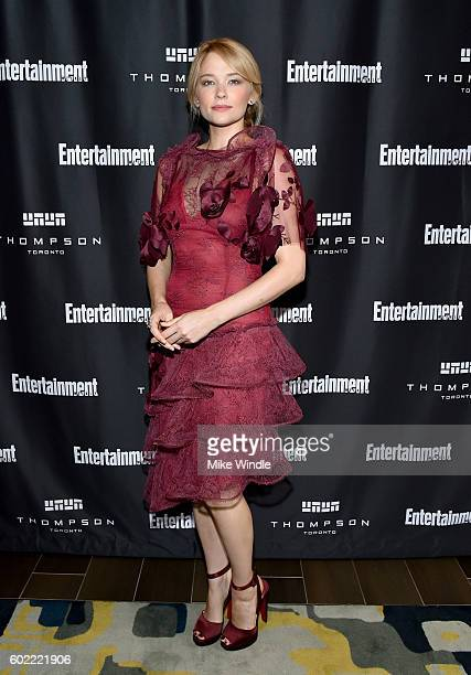 Actress Haley Bennett attends Entertainment Weekly's Toronto Must List party at the Thompson Hotel on September 10 2016 in Toronto Canada