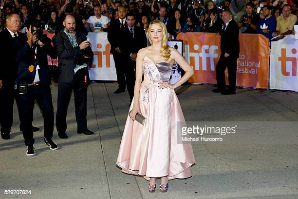Actress Haley Bennett attends 'The Equalizer' premiere during the 2014 Toronto International Film Festival