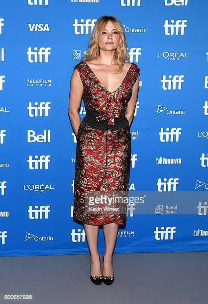 Actress Haley Bennett attends 'The Magnificent Seven' press conference during the 2016 Toronto International Film Festival at TIFF Bell Lightbox on...