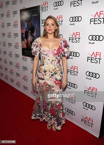 Actress Haley Bennett attends the premiere of 'Rules Don't Apply' at AFI Fest 2016 presented by Audi at TCL Chinese Theatre on November 10 2016 in...