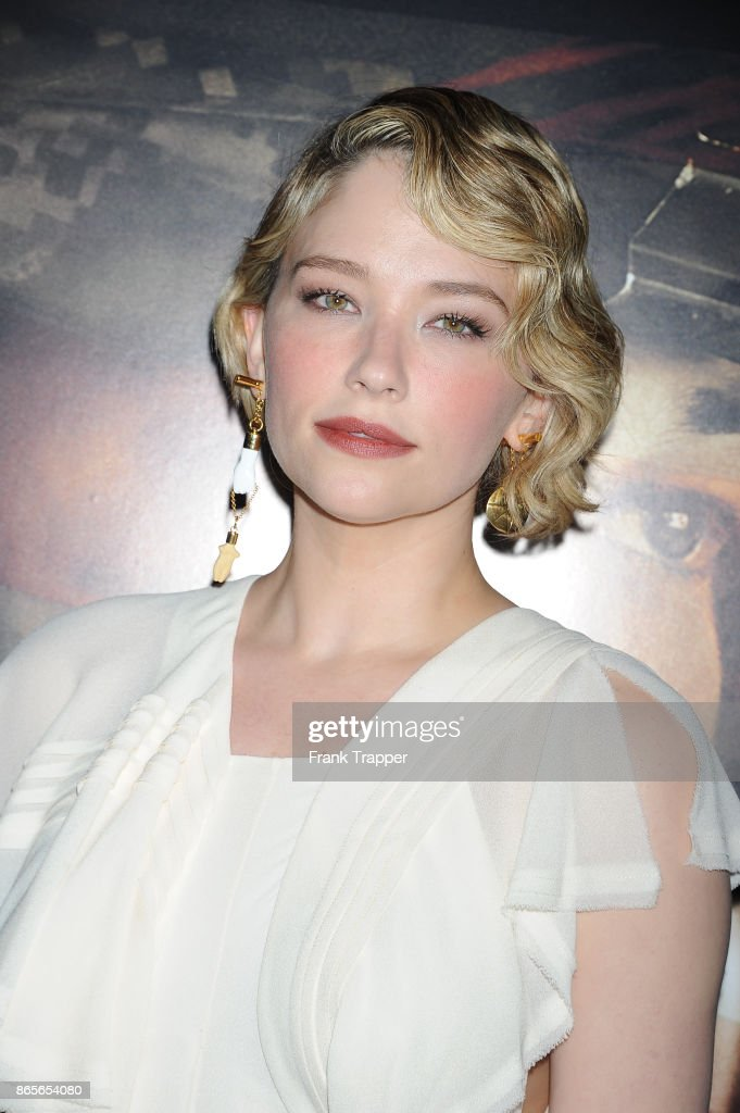 Actress Haley Bennett Attends The Premiere Of Thank You For Your News Photo Getty Images