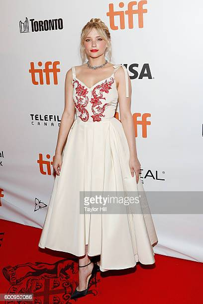 """Actress Haley Bennett attends the world premiere of """"The Magnificent Seven"""" during the 2016 Toronto International Film Festival at Roy Thomson Hall..."""