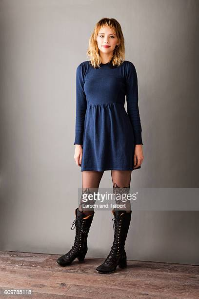 Actress Haley Bennett is photographed for InStyle Magazine on January 21, 2011 in Park City, Utah.